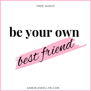 Be Your Own Best Friend Audio Recording to help you find that holiday spirit.