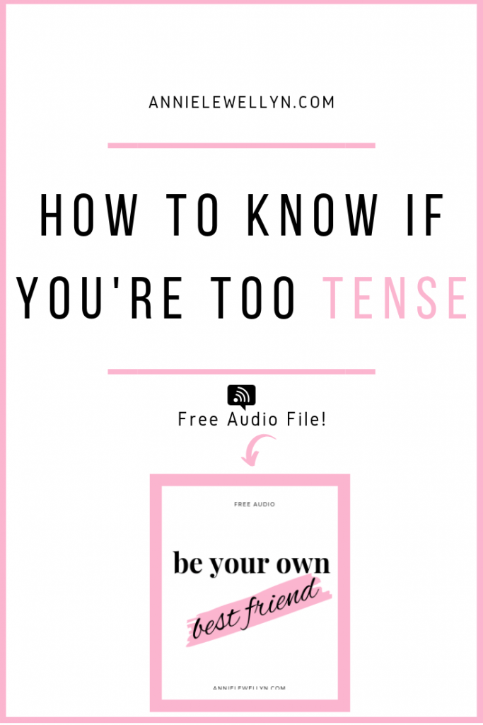 You can start leading a life filled with being productive and happy and before you know it, tense will be a word of your past!