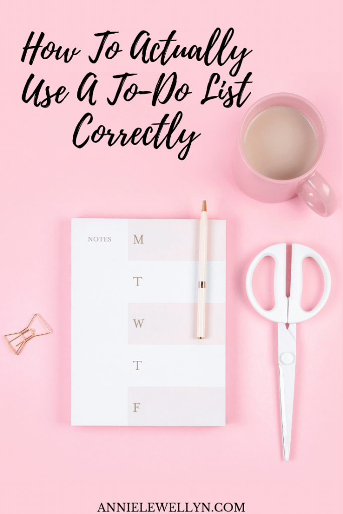 Did you know that a to-do list you make for your business is completely different and used differently than the everyday to-do list we are all used to making? Learn how to use it correctly in your business and achieve those goals!
