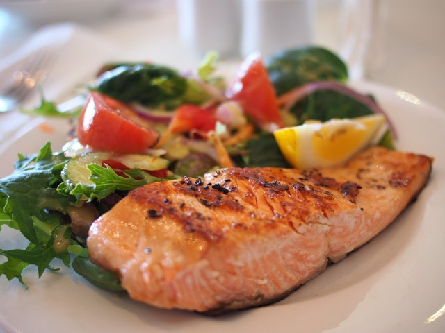 close up of a healthy meal.