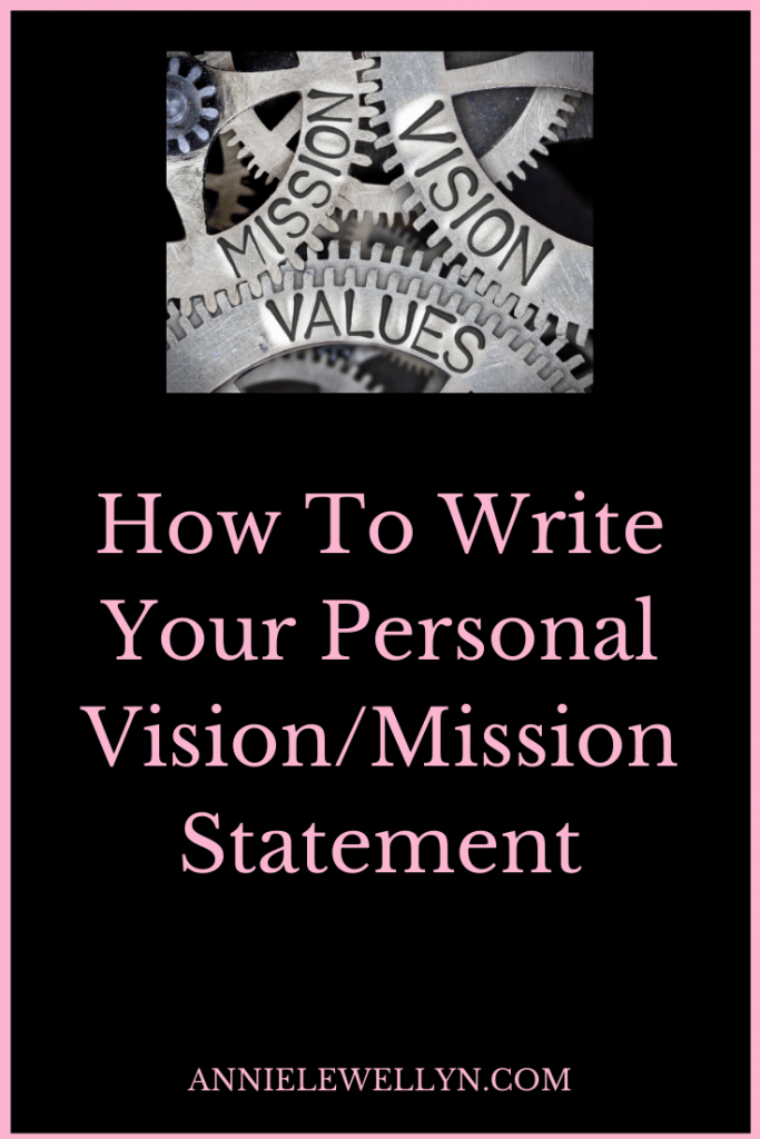 Do you know how to write your personal vision statement? How about your personal mission statement. Both of these are keys to your success in both your life and your career.