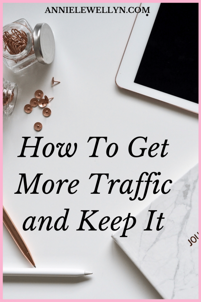 The hardest part of blogging is often driving traffic to your blog. Here are 4 key ways you can not only get traffic to your blog but make those readers return for more.