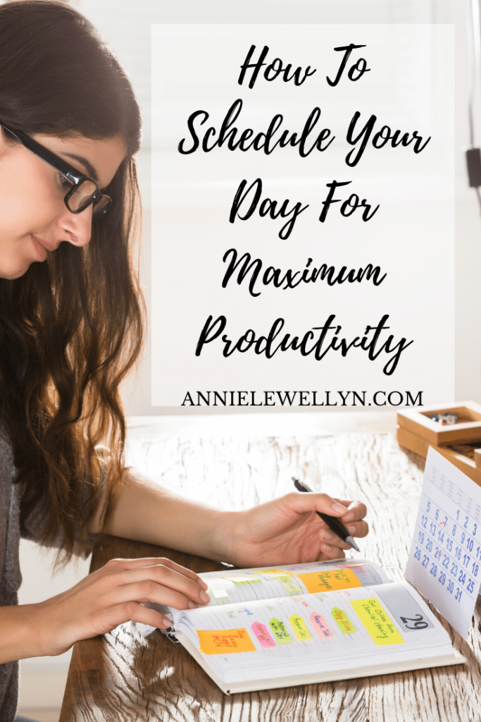 The key to maximum productivity regardless of what your doing is to set a productive schedule. Follow these tips to get started today.