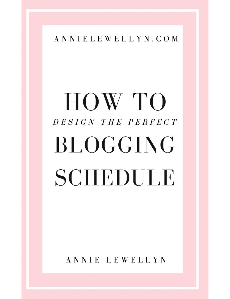 Design the Perfect Blogging Schedule Image