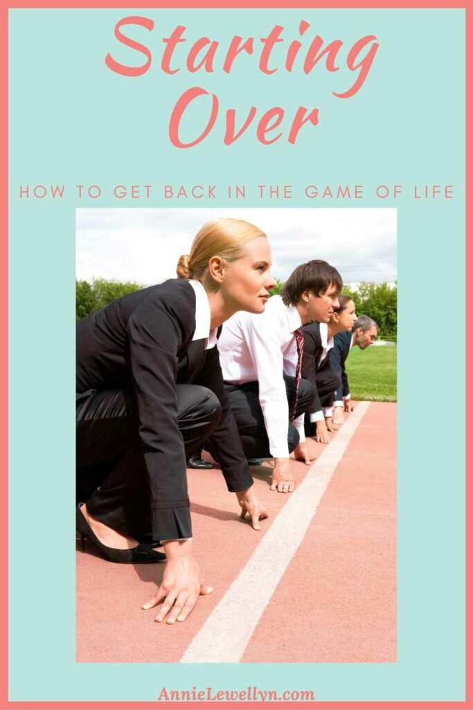 : Everyone hits a point in their life when the option of starting over needs to happen. Use these steps as a guide to get back on your feet and start living again.