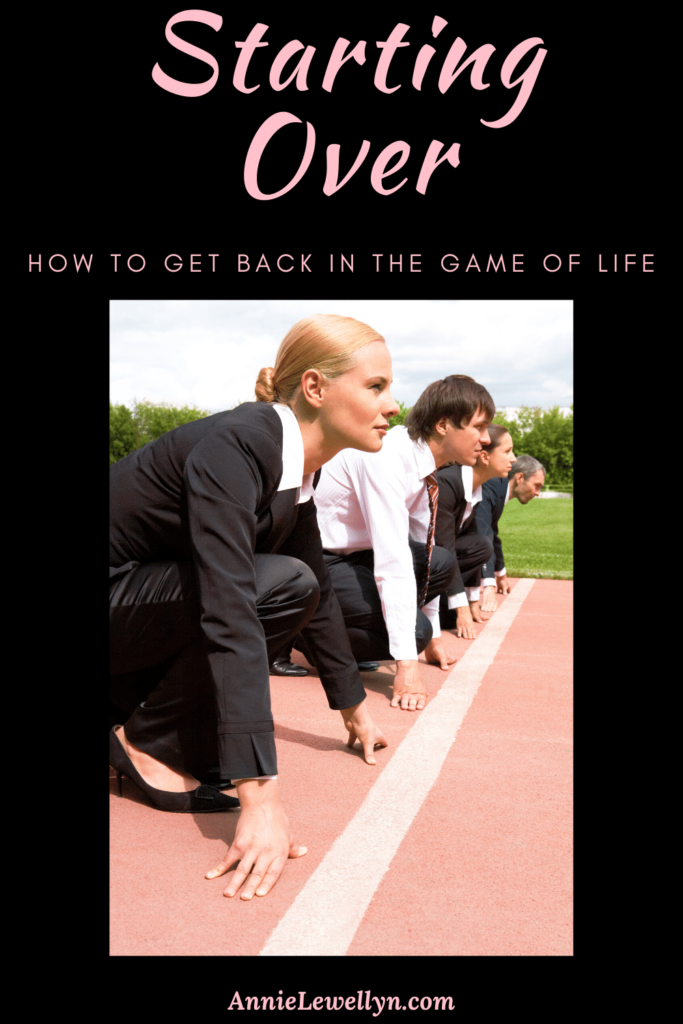 Everyone hits a point in their life when the option of starting over needs to happen. Use these steps as a guide to get back on your feet and start living again.