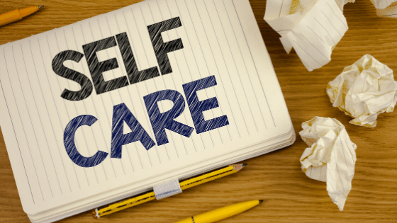 self-care routine journal